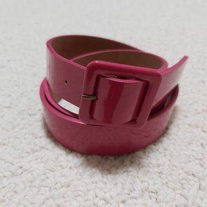 2/$30 Banana Republic Shiny Belt–Pink XS (EUC)